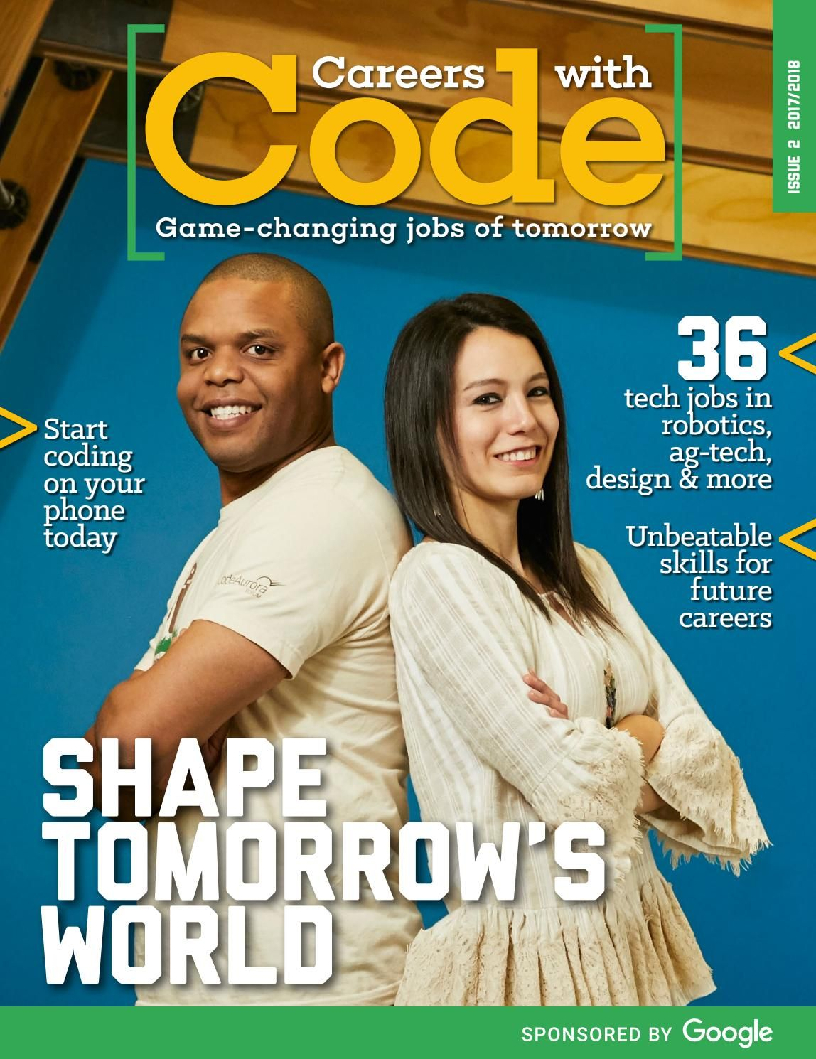 Careers With Code Is A Magazine That Inspires High School