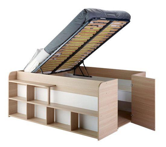 lit estrade plateform storage bed