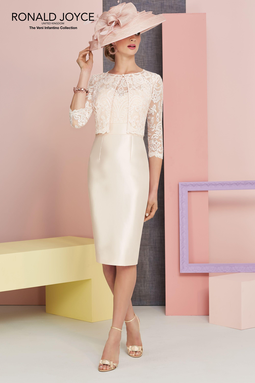 Ronald Joyce Dress & Jacket, 991316, colour Rose. | Mother dresses ...