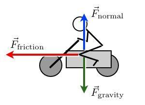 A free body diagram   Physics   Pinterest   Body diagram