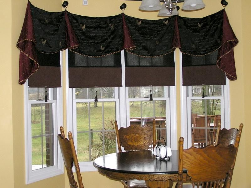 Bay Window Treatment Ideas Bay Window Treatment Ideas With Various