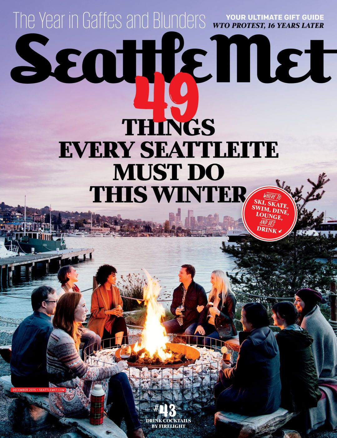 Our December 2015 Issue 49 Things Every Seattleite Must Do This Winter Winter Swimming Drinks