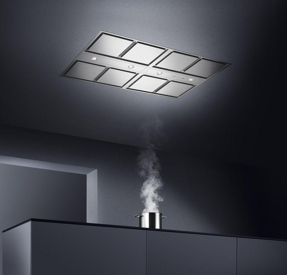 Kitchen Exhaust System Design: Vario Ceiling Ventilation