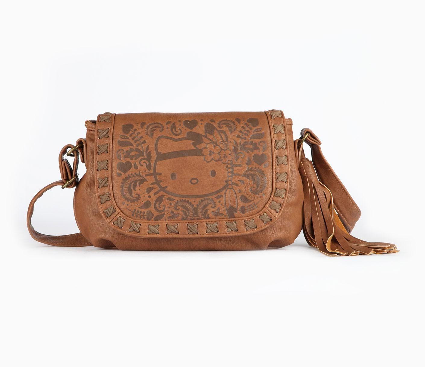 f7a0e7633f08 Hello Kitty Shoulder Bag  Boho Emboss