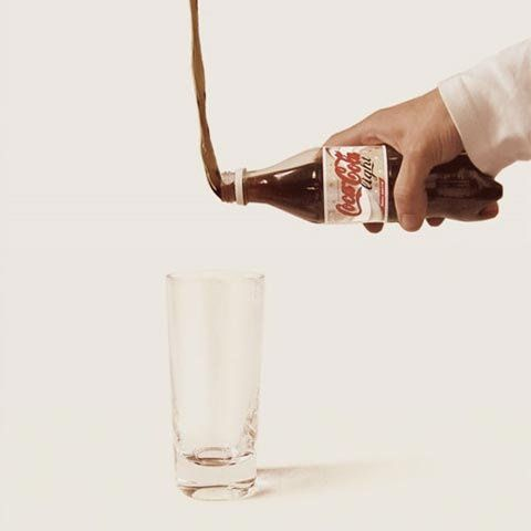 Coca Cola Light #publicidad #publicidadcreativa #advertising