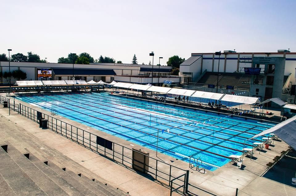The Newly Renovated Frank Fiscalini Swim Center Pool Where