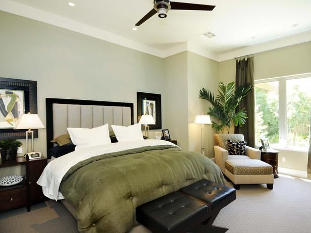 Earth Toned Bedroom This Guest Suite Displays Impressive Dimensions