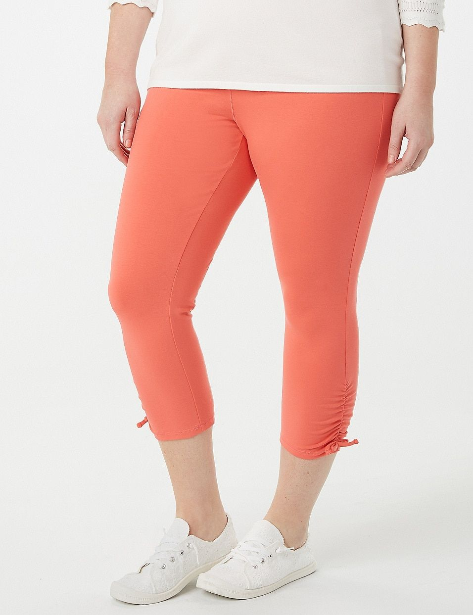 a1600cbc061ff9 Plus Size Tied-Bottom Leggings   dressbarn   Passion for Fashion in ...