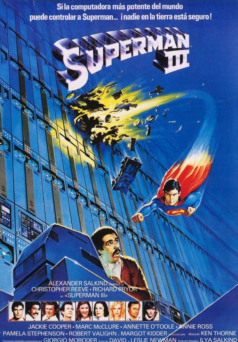 Superman III (1983) EEUU. Dir: Richard Lester. Acción. Aventuras. Ciencia ficción. Comedia - DVD CINE 867-VIII