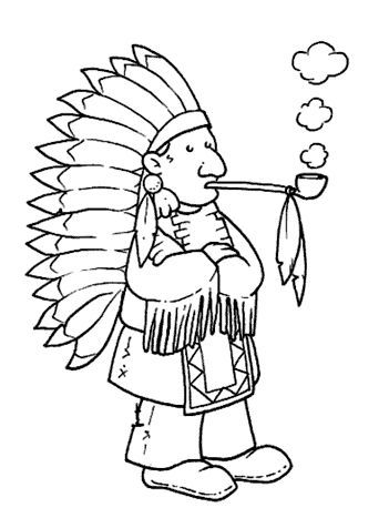 Desenhos De Indios Para Colorir Com Imagens Desenhos Desenho
