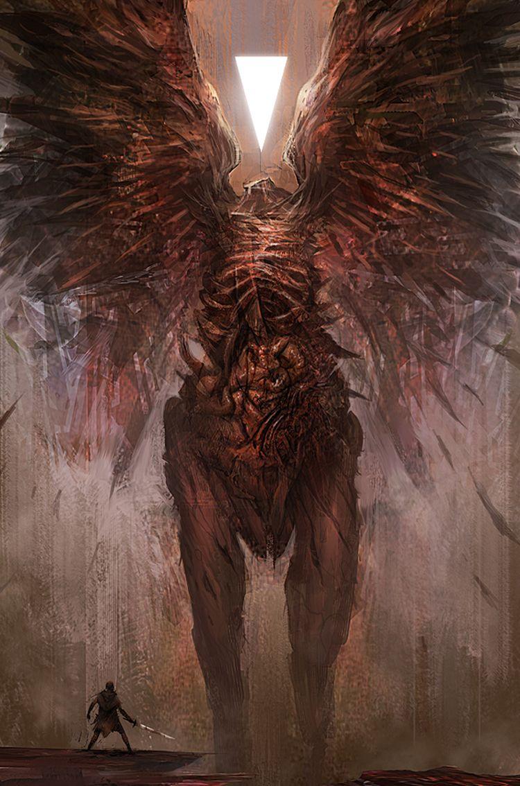 Hellblade Créature fantastique, Art fantastique, Art
