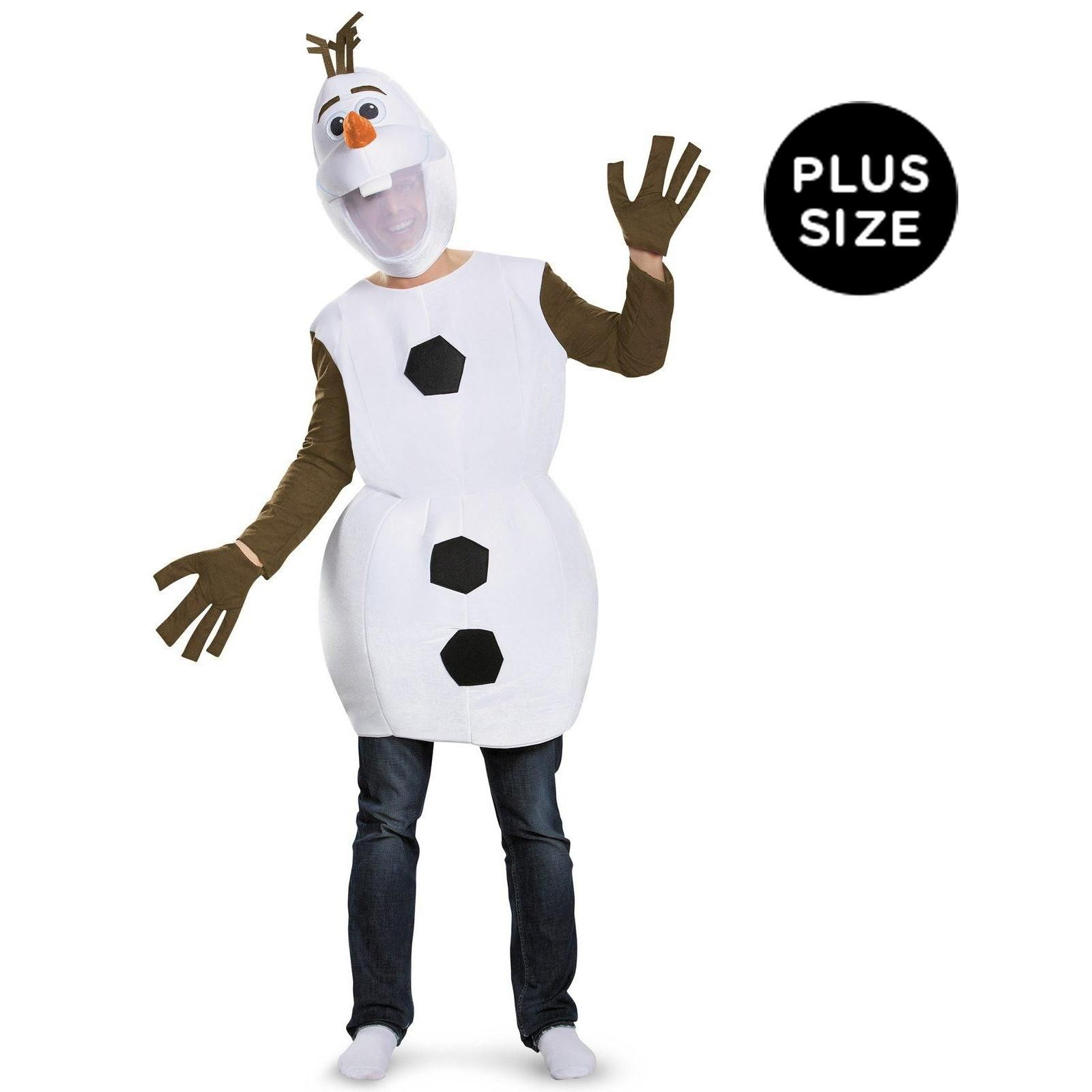 Disney Frozen Olaf Deluxe Olaf Snowman Small 2T Costume Disguise