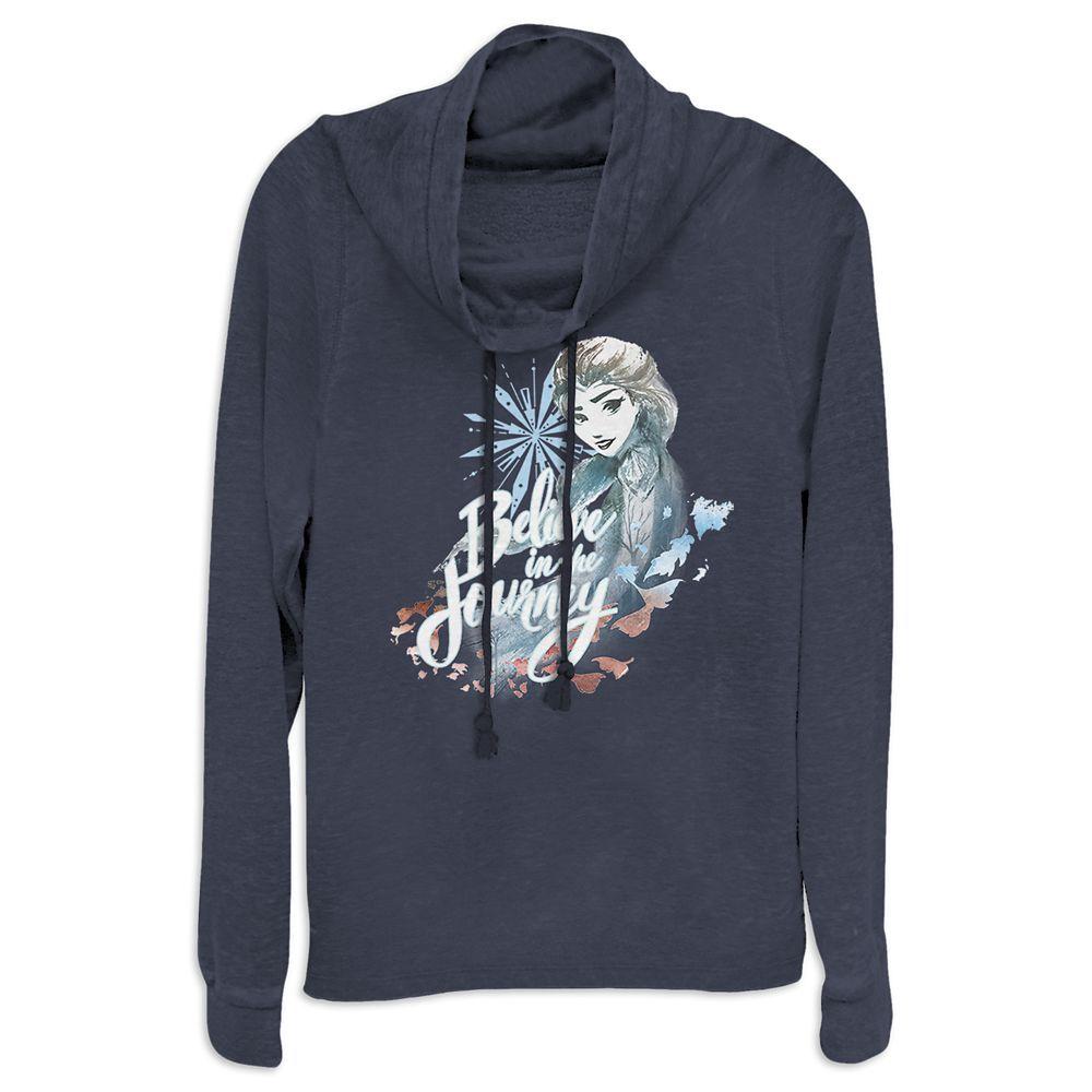 Elsa Cowl Neck Pullover For Women Frozen 2 Shopdisney Cowl Neck Sweatshirt Cowl Neck Pullover Sweatshirts [ 1000 x 1000 Pixel ]