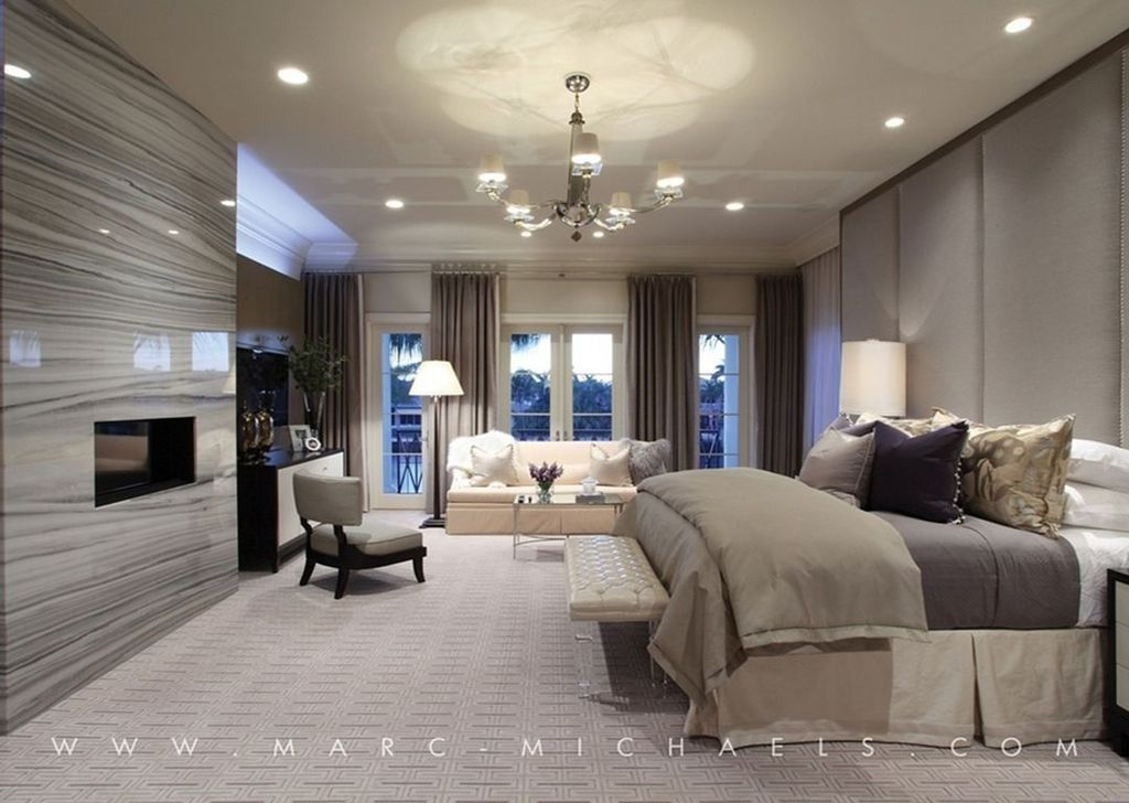 Best Romantic Luxurious Master Bedroom Ideas For Amazing Home 03 Amazing Bedroom Home Ideas In 2020 Luxury Bedroom Master Luxurious Bedrooms Master Bedroom Interior