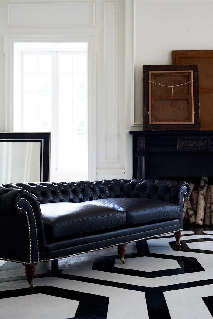 The Brook Street Tufted Sofa This Chesterfield Is Masculine In Style And Boasts Deep Low Proportions