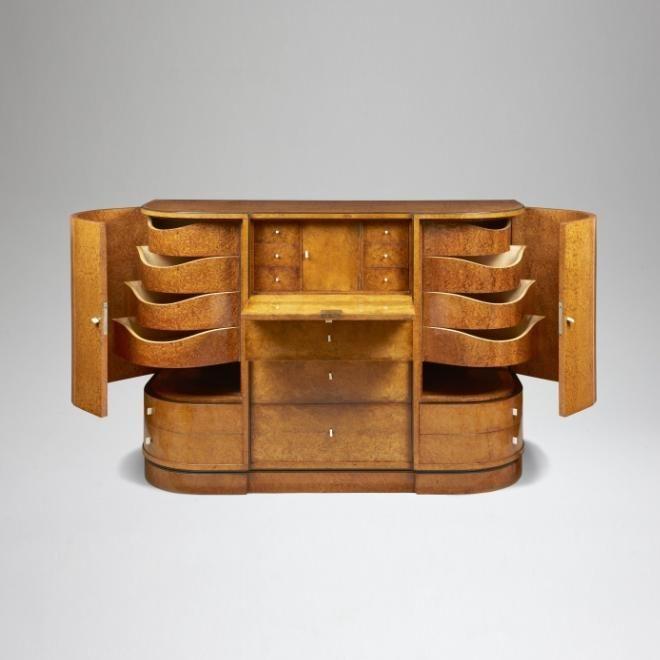 Meuble de rangement / Pierre Chareau Interior Design Pinterest