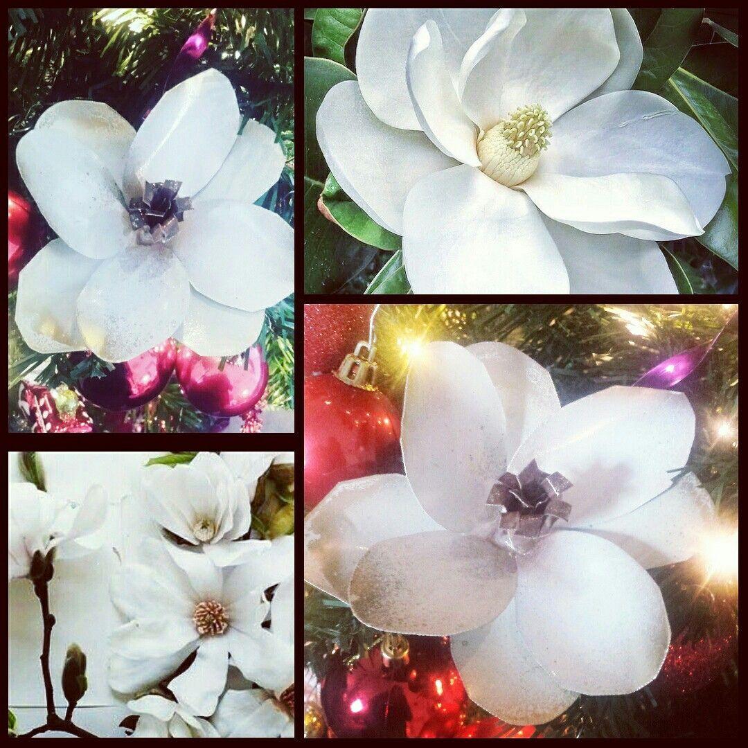 Poppy flower stake garden art poppy strong metal yard art flower - Metal Magnolia Flower