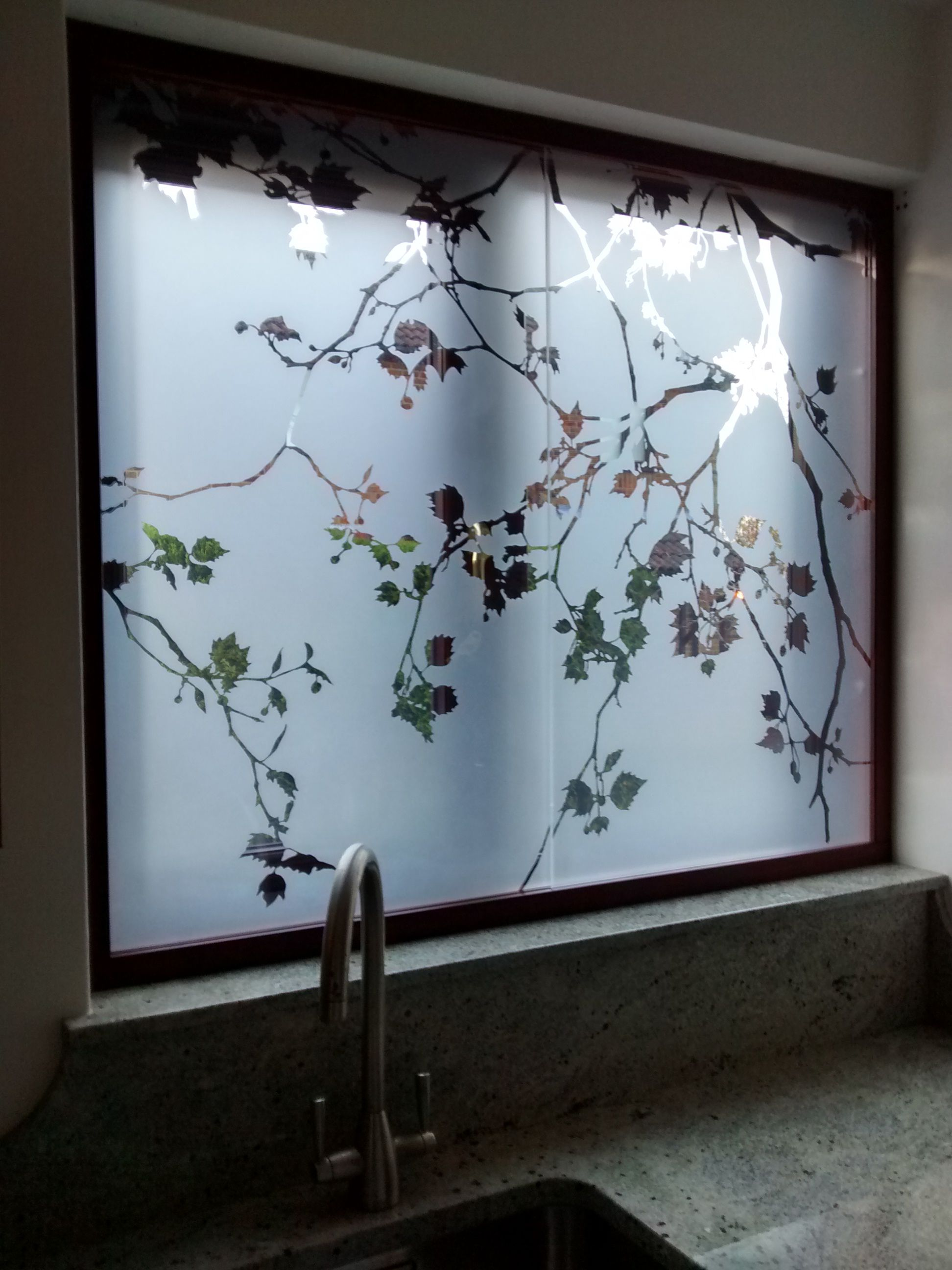 Pin By Keli Schu On Etched Window Designs By Antonia Macgregor Etched Glass Door Sliding Glass Door Frosted Glass Window