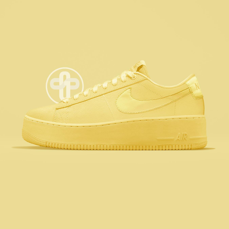 Nike Blazer Creeper Triple Yellow