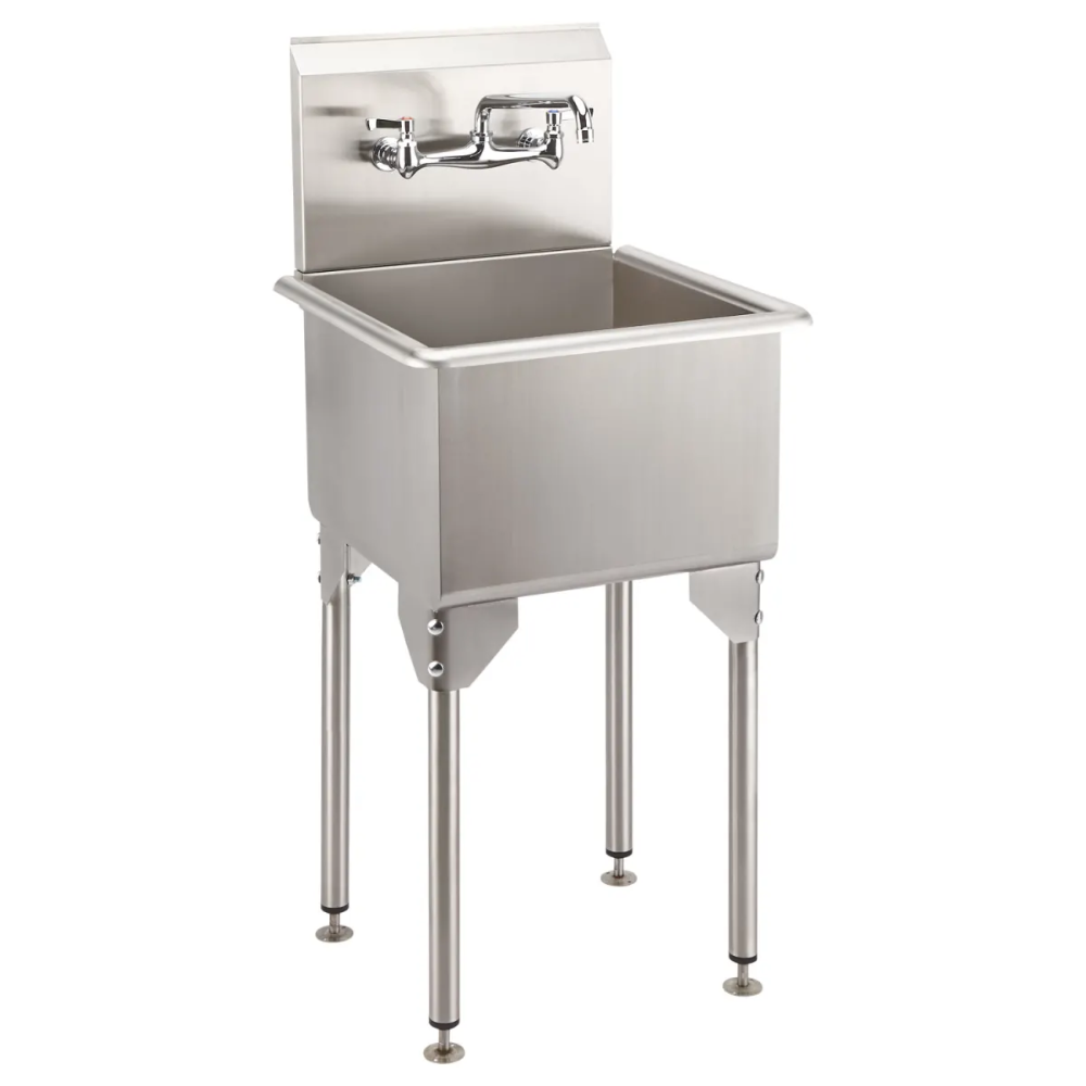 Signature Hardware 934481 21 Utility Sink Stainless Steel