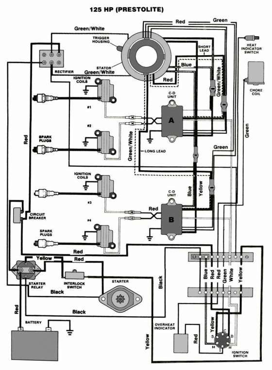 Mercruiser 140 Engine Wiring Diagram And Mastertech Marine Chrysler Force Outboard Wiring Boat Wiring Boat Stuff Wiring Diagram