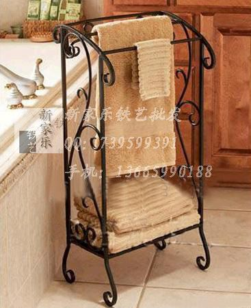 Rought Iron Towel Racks Fashion Rustic Wrought Rack Floor