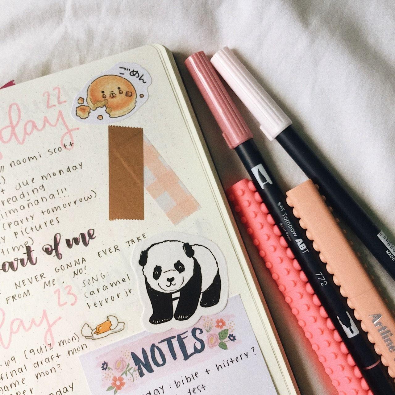 Bullet Journal Aesthetic Tumblr