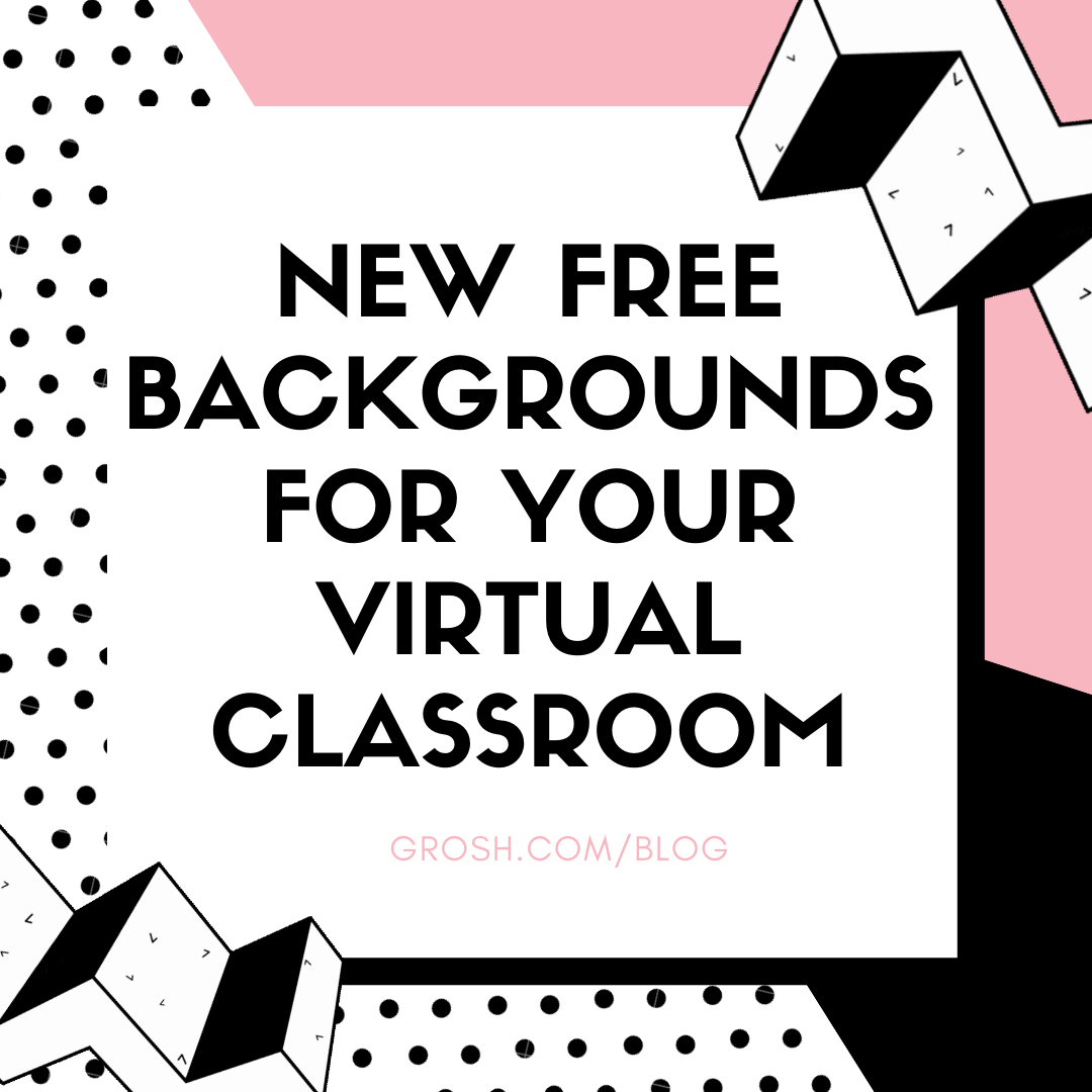 New Free Backgrounds For Your Zoom Meeting In 2020 Virtual Classrooms Classroom Background Classroom