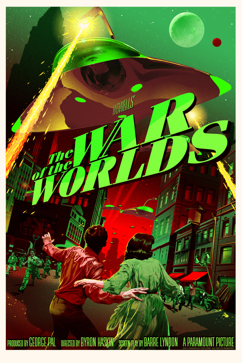 Mondo's Retro 'The War of the Worlds' Poster Details | Horror Society