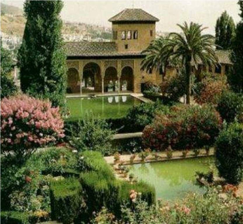 Generalife y sus jardines, Granada
