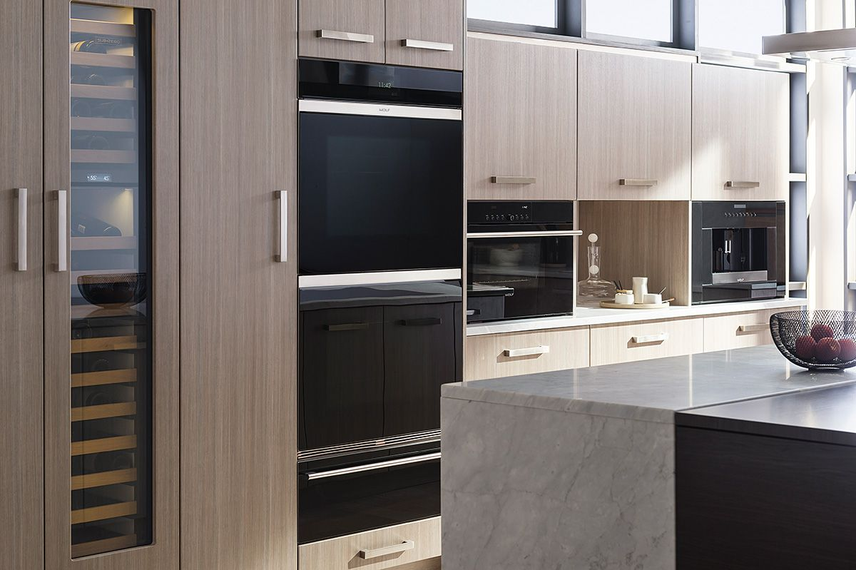 The Sub-Zero 18  integrated wine storage unit fits into almost any kitchen study media room. Now even the smallest galley or apartment kitchen can have ... & The Sub-Zero 18