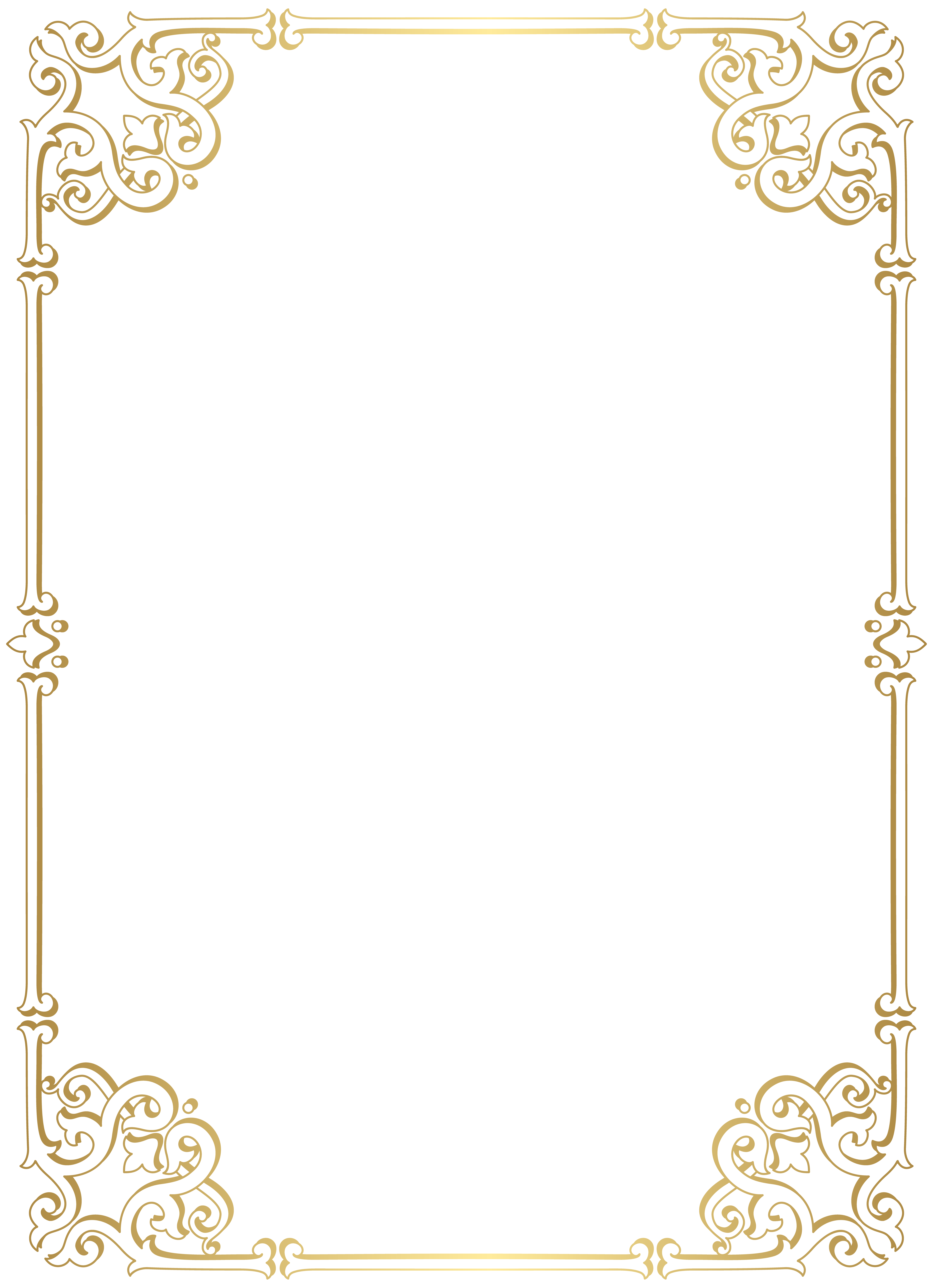 Decorative Border Frame Png Clip Art Gallery Yopriceville High Quality Images And Transpare Clip Art Frames Borders Decorative Borders Frame Border Design