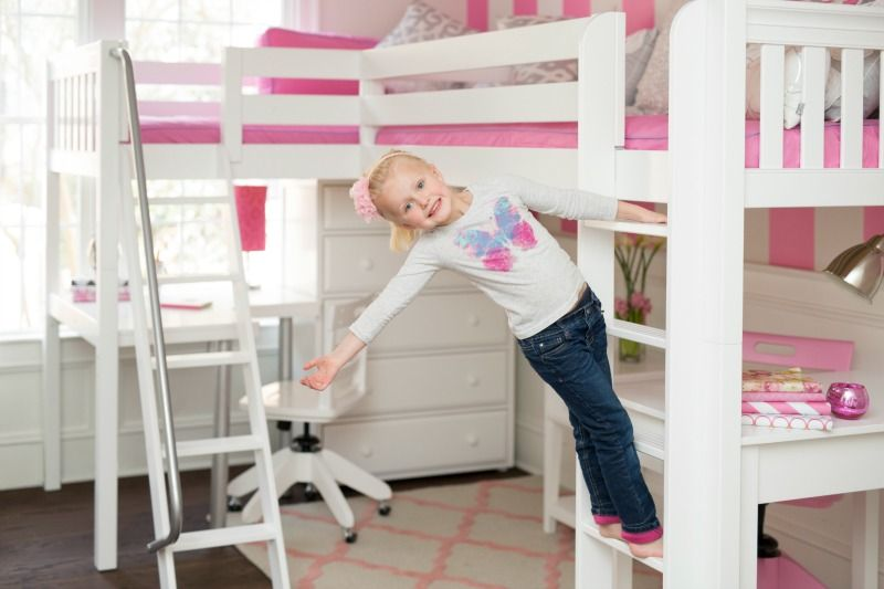White Corner Loft Bed Two Beds With Desk Under And Storage Dresser Nightstand This Look At Www Maxtrixkids By Maxtrix Kids Furniture