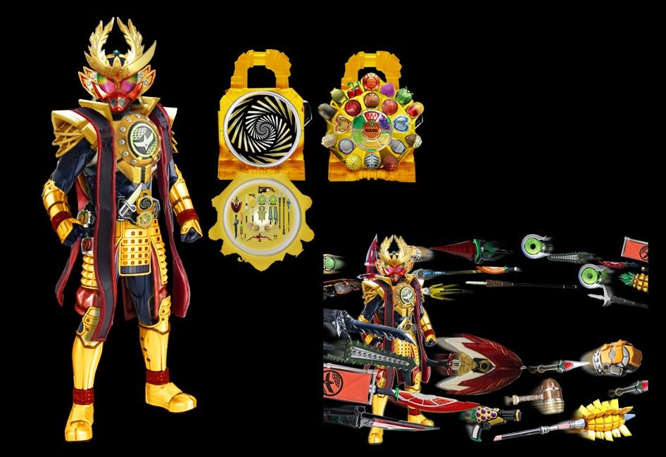 Kamen Rider Gaim Kiwami Arms Cosplay