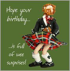 Scottish Birthday Birthday Wishes For Men Happy Birthday Man Birthday Wishes Funny