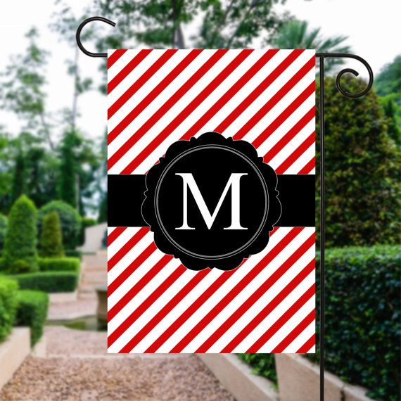 Holiday Garden Flag | Personalized Garden Flags | Garden Flag | Garden Decor | Holiday Flag  #OutdoorFlag #PersonalizedFlag #GardenFlag #WelcomeFlag #GardenFlags #GardenDecor #GardenSign #YardFlag #MonogrammedFlag #YardSign