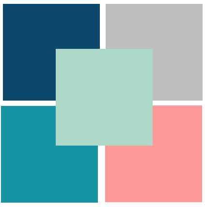 Colors that go well with seafoam green :)