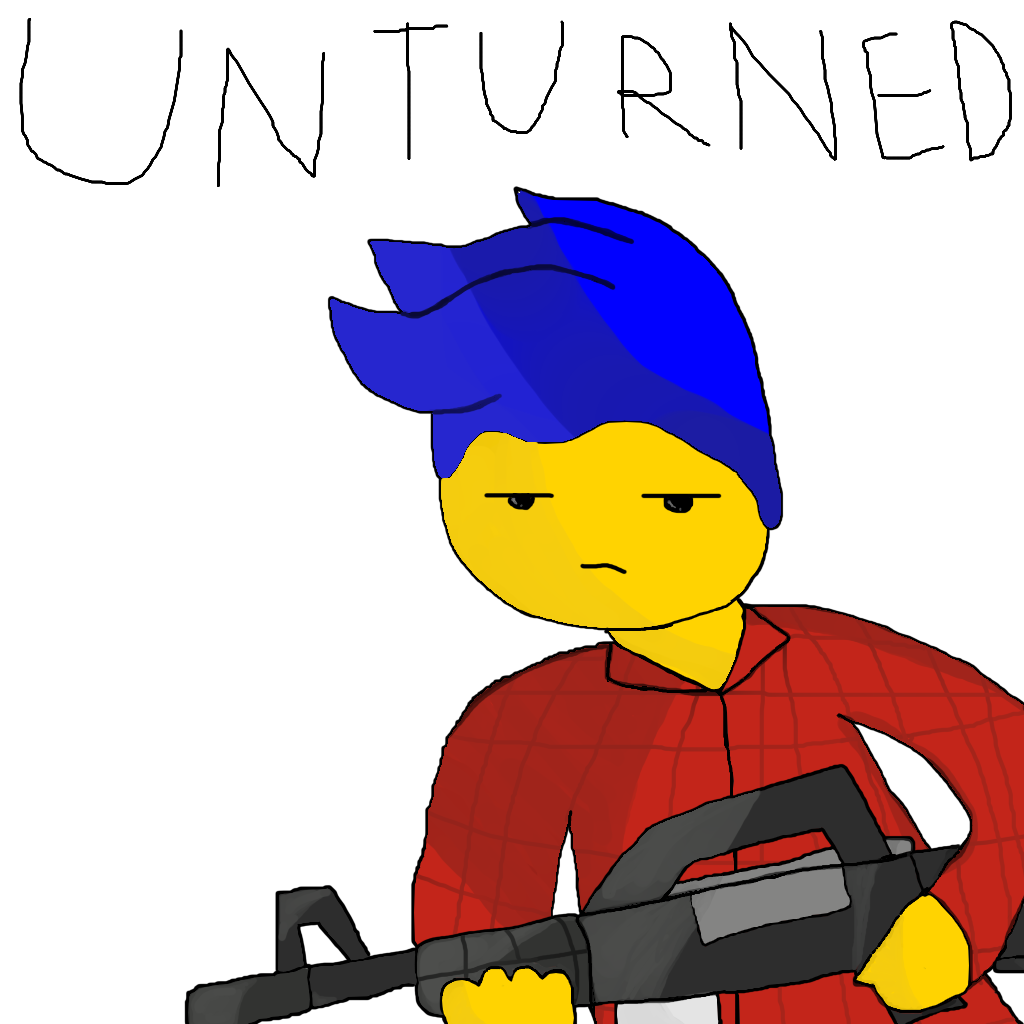 This Is Sdgnelson In Unturned Character Disney Characters Bart Simpson