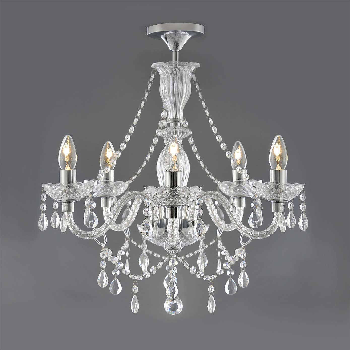 crystal chandelier dunelm # 13