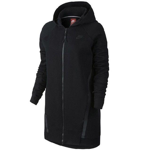 Original New Arrival TECH FLEECE Women's Jacket Hooded Sportswear