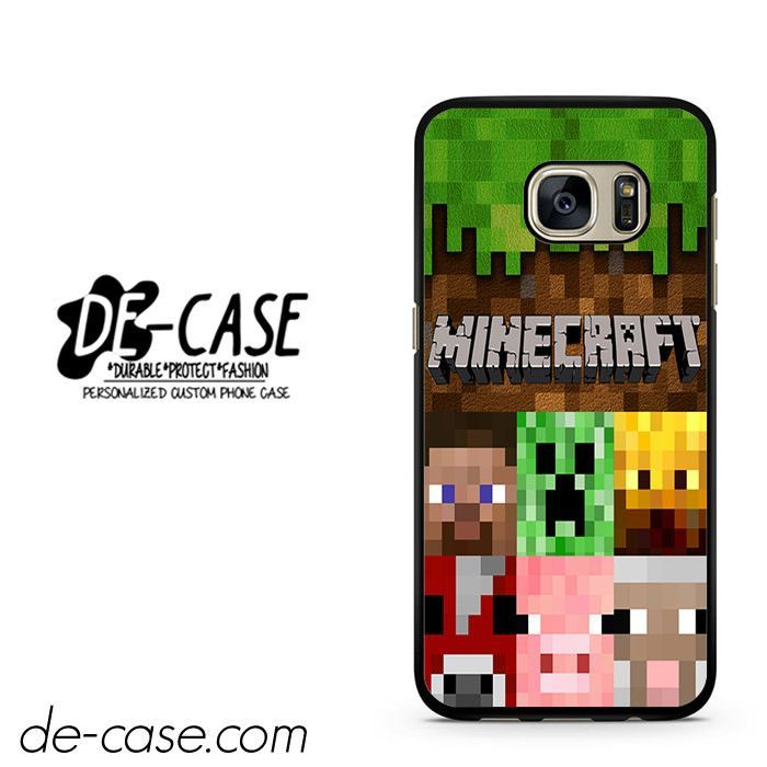Minecraft Character DEAL-7263 Samsung Phonecase Cover For Samsung Galaxy S7 / S7 Edge