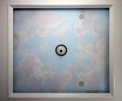 Puffy Clouds in a Soffett Ceiling | роспись небо | Pinterest ...