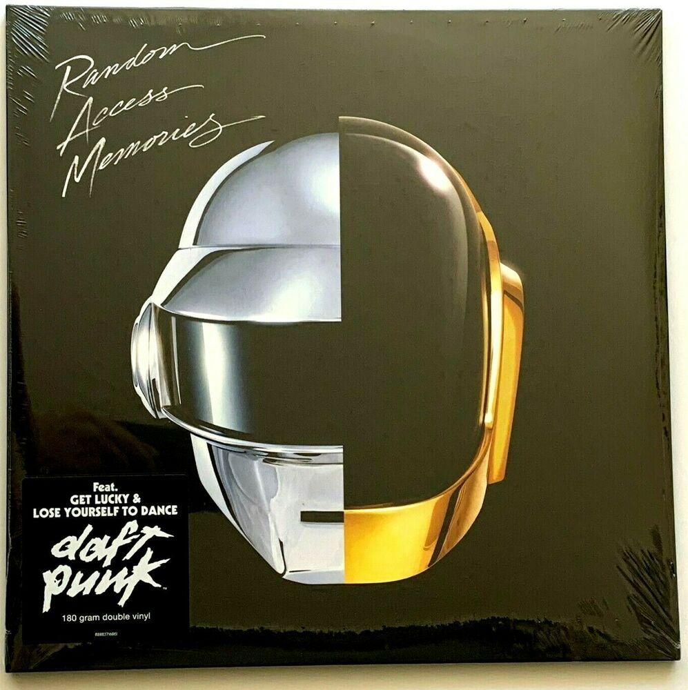 Daft Punk Random Access Memories Lp Vinyl Record Album New Sealed 180 Gram In 2020 Vinyl Record Album Vinyl Records Record Album