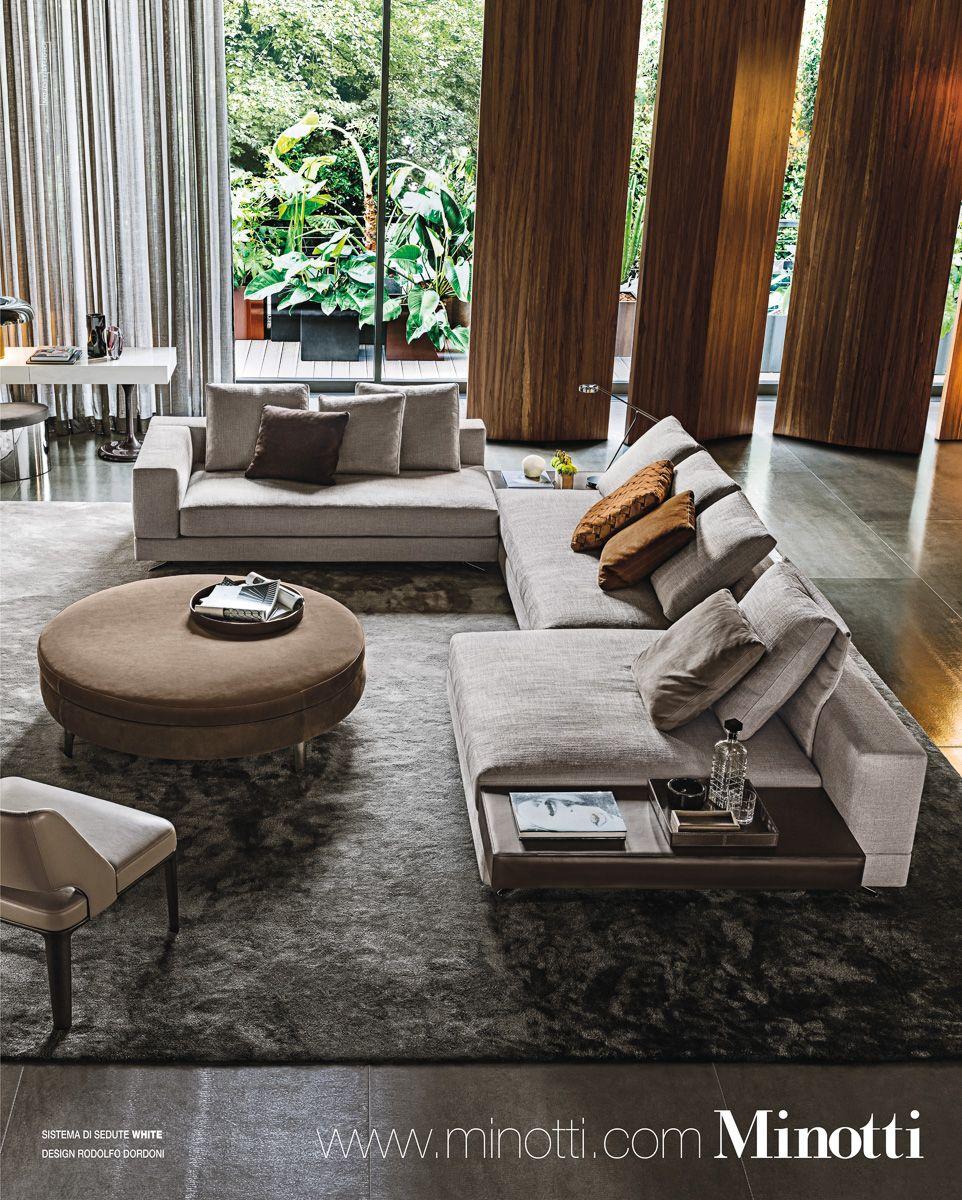 Minotti sofa salon moderne minotti furniture living room designs et living room interior - Meubles minotti ...