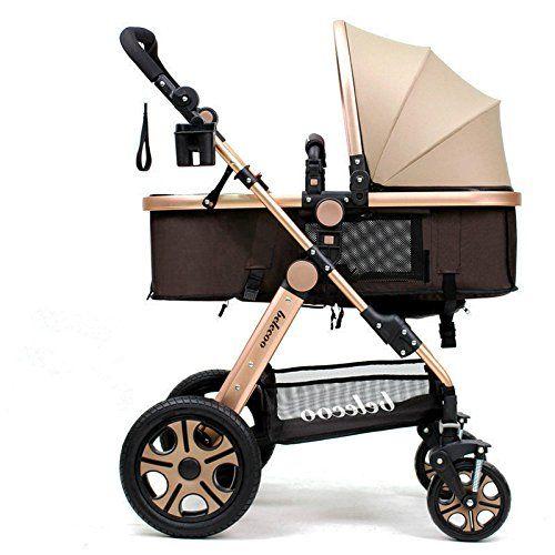 2 in 1 Foldable Baby Stroller Newborn Carriage Infant Travel Car Pram Pushchair