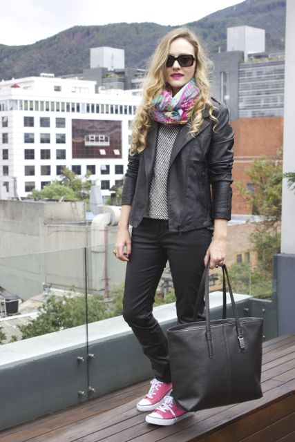 del post la Bogotá Outfit terraza flagship store Windy Totto en nEUwYZEq