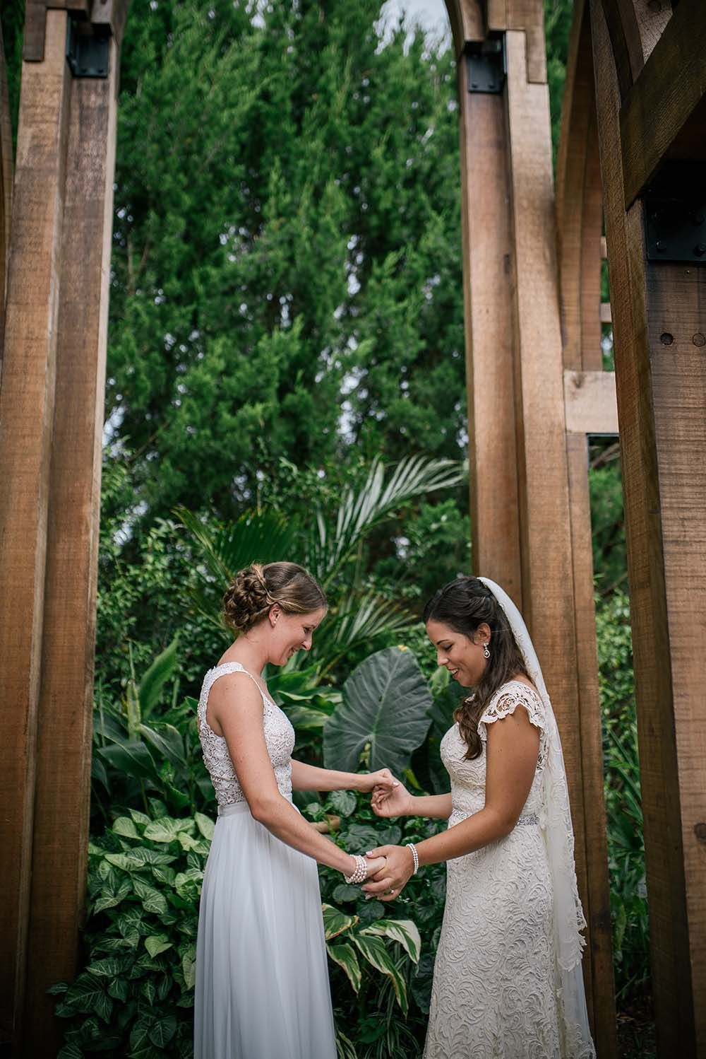 Rainy Farm Inspired North Carolina Lesbian Wedding North Carolina