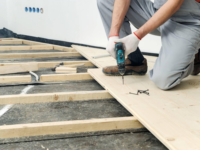 Comment Fabriquer Des Plinthes En Bois comment poser un plancher bois ? | leroy merlin | plancher