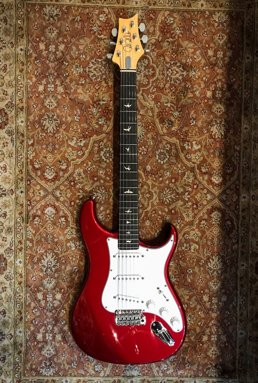 Prs Silver Sky John Mayer Electric Guitar Horizon Electric Guitar Guitar Guitar Kits