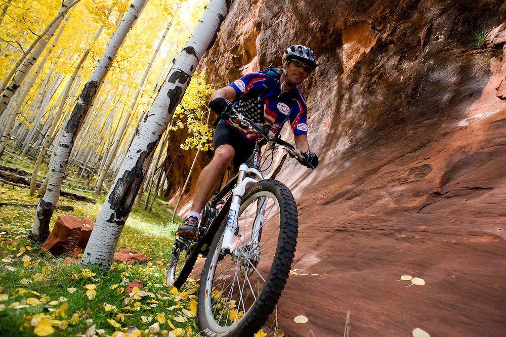 Kahuna Rock Fall Mountain Biking In The Zuni Mountains New